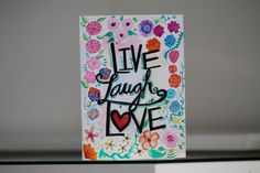 Watercolor Card by Missojos on Etsy
