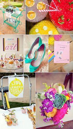 Bright Summer Wedding Inspiration