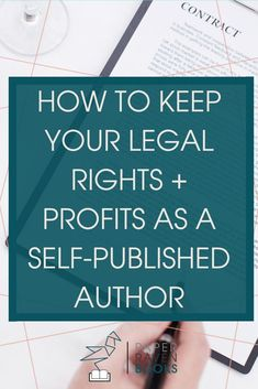 One of the scariest realizations as an author is that you don't legally own what you wrote. Those words you put all that effort into composing are now owned by someone else who can do almost anything they want with them. That's what happens when you sign Book Writing Tips, Writing Resources, Writing Help, Writing Skills, Writing Prompts, Writing Quotes, Writing Ideas, Editing Writing, Poetry Quotes