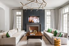 Great stone mantel and trim for the study
