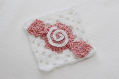 Crochet Candy Granny Square | Bake Shop Blanket Series | Sewrella