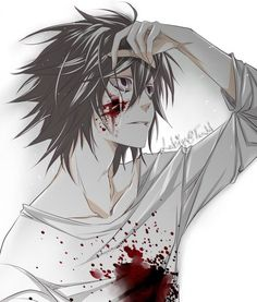 Ok I always thought L looks like Jeff the Killer (without the smile, obviously) and this. I thought I was looking at Jeff at first xD OH AND I DIDNT NOTICE EXACTLY WHAT THE PICTURE WAS. NOW I AM VERY SAD.