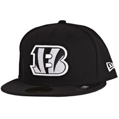 New Era 59Fifty Cap - NFL Cincinnati Bengals schwarz Five Panel Cap b7d965db1