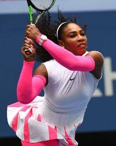 Blog Esportivo do Suíço:  Serena vai às oitavas do US Open e iguala recorde de Federer