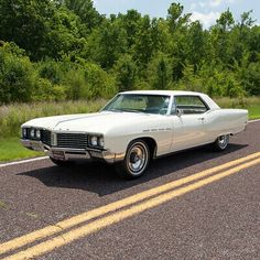 This 1967 Buick Electra 225 is reportedly one of only two-door hardtop Electra built that year. It was originally sold at Rasmussen Buick in Council Bluffs, Iowa, and it long resided in. Electra 225, Buick Electra, Buick Cars, American Classic Cars, Buick Riviera, Air Conditioning System, Us Cars, Vintage Cars, Retro Cars