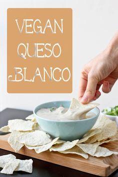 Vegan Queso Blanco - soy free, dairy free cheese dip