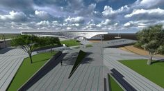 Urban space + public transportation. Spectro - Arquitetura e Engenharia