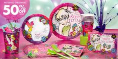 Keep Flying Tinkerbell Party Supplies - Girls Birthday Party - Party City