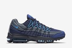 Nike Air Max 95 Ultra SE Men's Shoe: Coastal Blue/Blue Graphite/Obsidian/Blue Lagoon