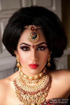 Asian Wedding Ideas - A UK Asian Wedding Blog: {Makeup Portfolio} Nasreen Khan Mua
