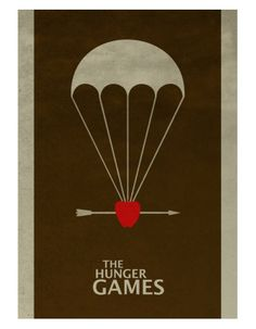 The Hunger Games (2012) ~ Minimal Movie Poster by David Peacock