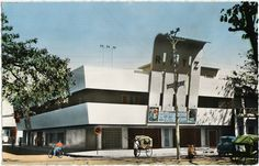 Cinéma Ritz, Majunga, Madagascar, ~1956- wonder if this is still around in 2015