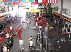Working out at Golds Gym Venice California Venice California, Muscle Building Supplements, Cardio Equipment, Group Fitness Classes, Ca Usa, Best Gym, Gym Membership, World Famous, Venice Beach