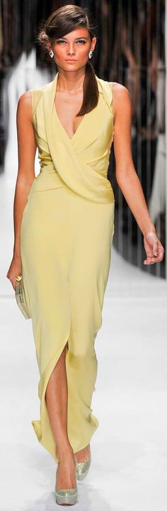 Jenny Packham Spring Summer 2013 evening dress..