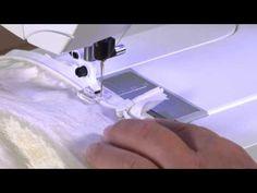 HUSQVARNA VIKING® Clear Invisible Zipper Foot/installation