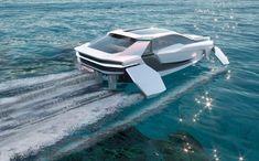 E Electric, Flying Car, Power Boats, Phuket, Sun Lounger, Super Cars, Waves, Outdoor Decor, Design
