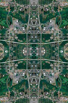Kaleidoscope-Inspired Cities by David Thomas Smith
