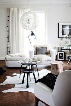 Гостиная, холл в цветах: черный, серый, белый, коричневый. Гостиная, холл в стиле скандинавский стиль.