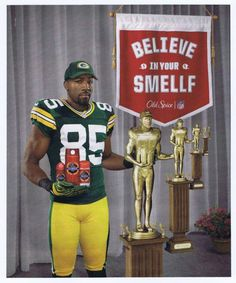 2012 Greg Jennings (Green Bay Packers) photo Old Spice print ad http://clektr.com/el0