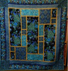 peacock quilt pattern   plume the pattern she used is leesa chandler s southern jewel pattern ...