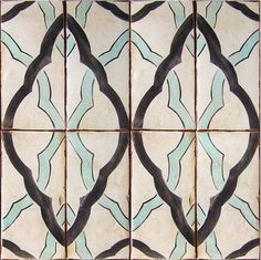 Custom terracotta tile, Maghreb 4 By Tabarka Studio Tabarka, Doors And Floors, Patio Kitchen, Kitchen Backsplash, Moroccan Tiles, Moroccan Design, Decorative Tile, Stone Tiles, Textile Patterns