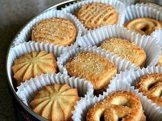 Immagine di food, Cookies, and delicious Danish Butter Cookies, Butter Cookies Recipe, Cookies Cupcake, Cookies Receta, Cookie Recipes, Dessert Recipes, Pan Dulce, Homemade Cookies, Love Food