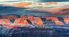 Snow Laced Grand Canyon: A Celebration of Winter Light