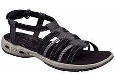 Columbia Womens Gladi Vent SandalBlackShale8 B US -- Check out the image by visiting the link.(This is an Amazon affiliate link)