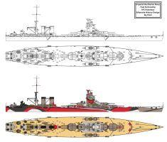Tone Kai type Heavy Cruiser Refit by Tzoli on DeviantArt Naval History, Military History, New Battleship, Navy Aircraft Carrier, Heavy Cruiser, Imperial Japanese Navy, Big Guns, Navy Ships, Native American History