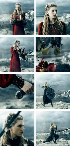 Lagertha: and the cry goes out they lose their minds for us and how it plays out  now we're in the ring and we're coming for blood #vikings