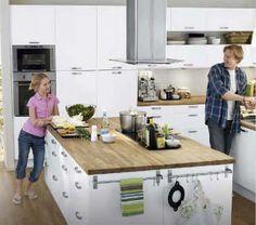 Ikea kitchen - great work space