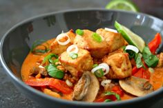 Easy Thai Red Curry With Tofu