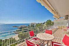 Lägenhet med terrass och fantastisk havsutsikt i Illetas #mallorca #lägenhet #illetas #bostad #mäklare
