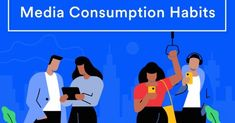 Marketing Masterminds Blog compares Gen Z vs Millennials media consumption similarities and differences with social media, TV, videos, and content.
