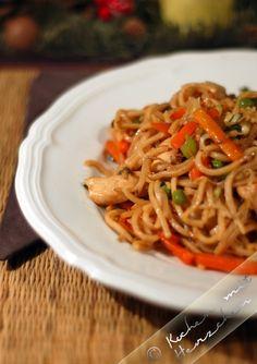 Kochen mit Herzchen - ♥ Mein Koch-Tagebuch mit viel Herz ♥: China-Nudeln zum Dritten