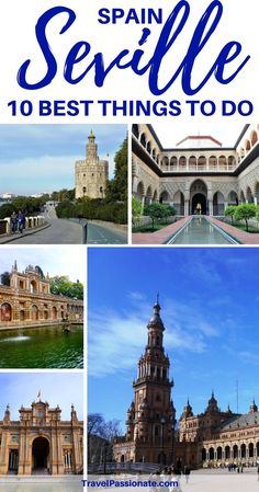 10 things to do in Seville, Spain, a city famous for the flamenco, the Alcazar and the beautiful Sevilla Cathedral. Check out my one day itinerary. Click through for more.