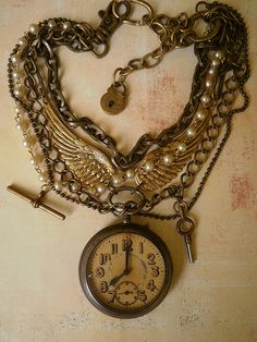 Watchchains. Eight o'clock and alls well. by Amanda Scrivener, via Flickr