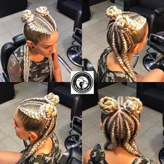 With shaved sides and back 🤔🤤 Crazy Braids, Pretty Braids, Feed In Braids Hairstyles, Braided Hairstyles, Coachella Hair, Curly Hair Styles, Natural Hair Styles, Unique Braids, Hair Doo