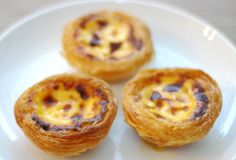 This pastéis de nata recipe makes as-close-to-authentic Portuguese custard tarts with a rich egg custard in a crisp, crackly pastry. Tastes like home, even if you're not from Portugal.
