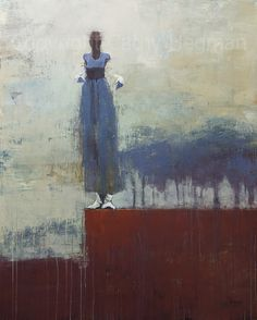 Cathy Hegman - Contemporary Artist - Figurative Painting - Concrete Skies