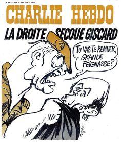 Charlie Hebdo - # 280 - 25 Mars 1976 - Couverture : Cabu