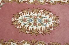 Main Colors, Colours, Pink Rugs, Oval Rugs, Rug Texture, Types Of Rugs, Fringes, Wool Rug, Carpet