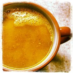 Turmeric Detox Drink. My new morning drink. Coffee....what??