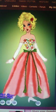 Summer dress Princess Peach, Disney Princess, Doll Divine, Girl Cartoon, Disney Characters, Fictional Characters, Cinderella, Mario, Summer Dresses