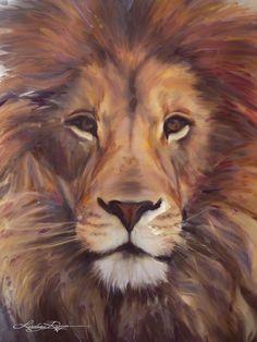 Bildergebnis für löwe acryl