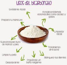 Aquí os dejamos algunos remedios de BELLEZA RADIANTE a base de bicarbonato de sodio.