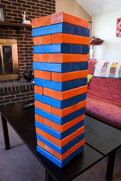 Detailed directions for building giant jenga Giant Jenga, Winter Wonderland Party, Employee Gifts, Review Games, Yard Games, School Games, Wedding Games, Kids Church, Small Gifts