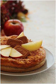 Gâteau magique pommes spéculoos....