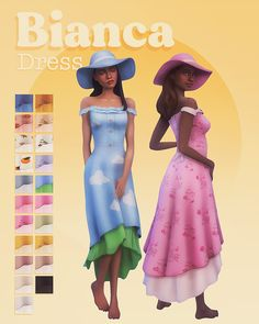 miikocc: Bianca dress for The Sims 4 ~ a frilly... - Simblr Sims 4 Cc Packs, Sims 4 Mm Cc, Sims Four, Sims 4 Mods Clothes, Sims 4 Clothing, Maxis, Sims 4 Game Mods, Sims 4 Body Mods, Sims 4 Dresses