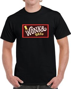 Wonka Bar  T Shirt